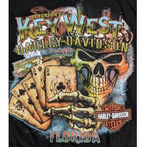 Key West Harley Davidson T-shirt Size XL NWT